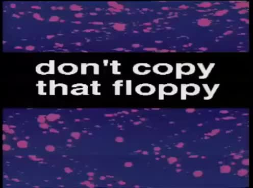 Watch and share Don't Copy That Floppy GIFs on Gfycat