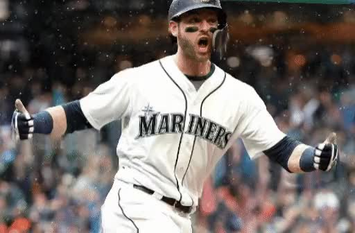 Watch and share Seattle Mariners GIFs and Mitch Haniger GIFs by fadedfedor on Gfycat