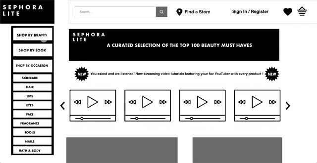 Watch and share V2 Sephora ShopByBrand GIFs on Gfycat