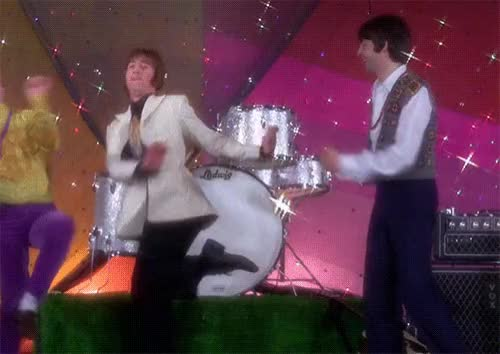 Watch and share Beatles-dance.gif GIFs by Streamlabs on Gfycat