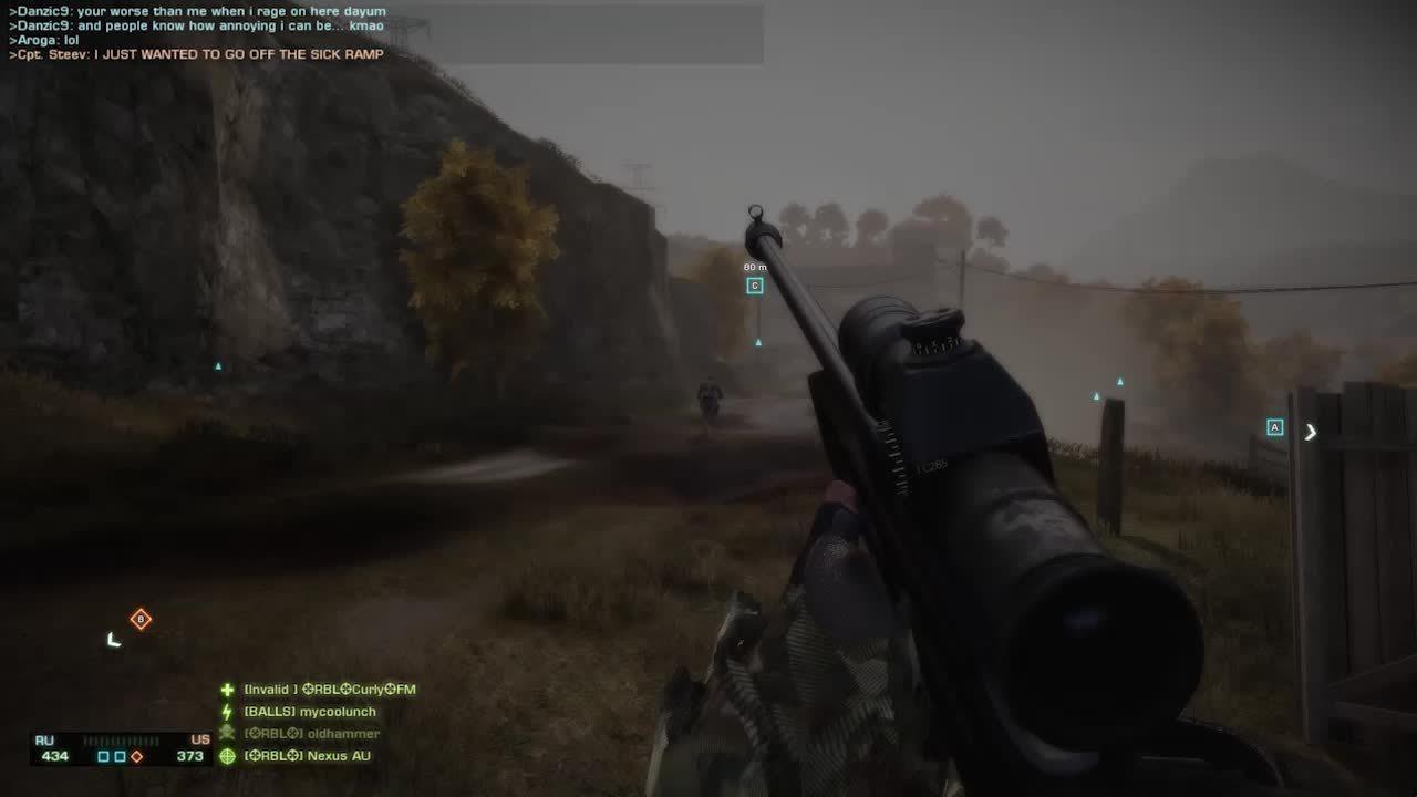 [Bad Company 2] Grapple Bullets (reddit) GIFs