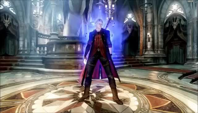Watch and share DMC4: Nero\Dante Taunts + Other Stuff GIFs on Gfycat