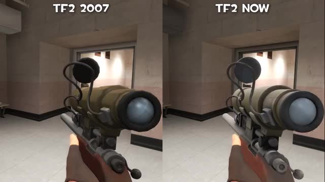 Watch TF2 2007 and now GIF on Gfycat. Discover more comparison, team fortress GIFs on Gfycat