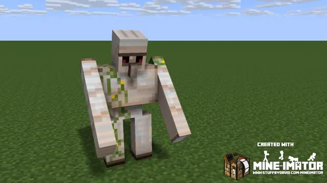 Watch and share Iron Golem Dabbing GIFs on Gfycat