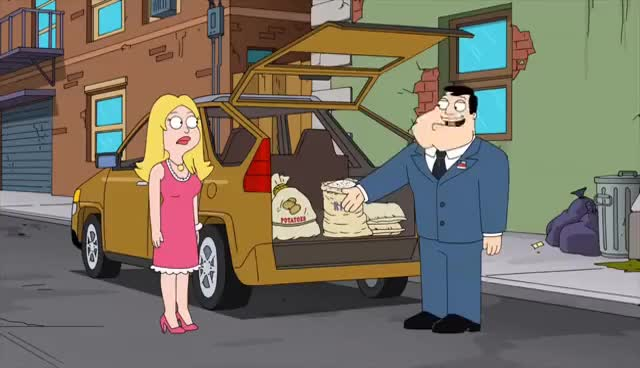 Watch and share Tranquilo Perro - American Dad GIFs on Gfycat