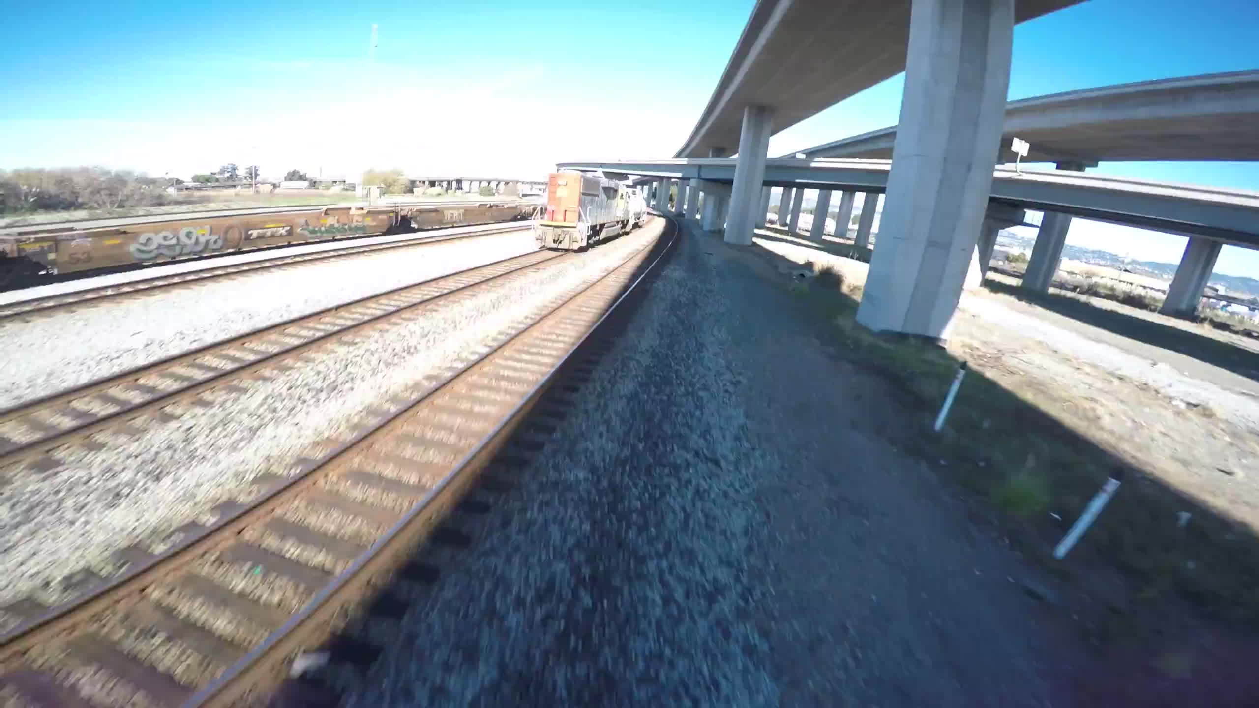 multicopter, That time Neuro powered on when I was chasing a train GIFs