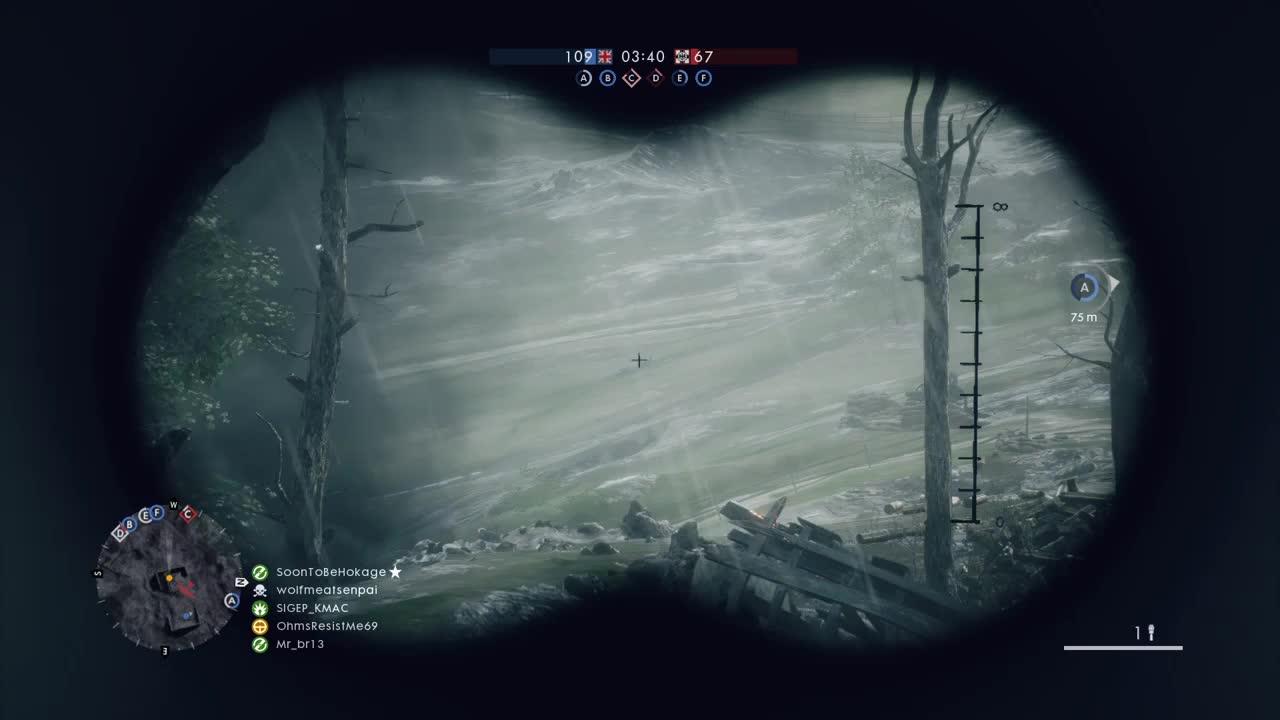 battlefield_one, ps4share, sony interactive entertainment, Battlefield1 headshot GIFs