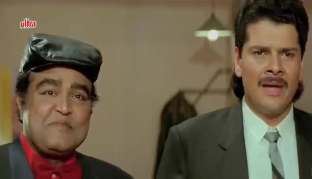 Watch and share Best Comedy Scenes Of Paresh Rawal - Andaz Apna Apna GIFs on Gfycat