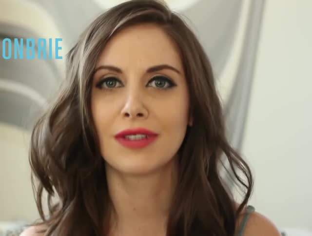 Watch and share Alison Brie GIFs by ehstrdcfg on Gfycat