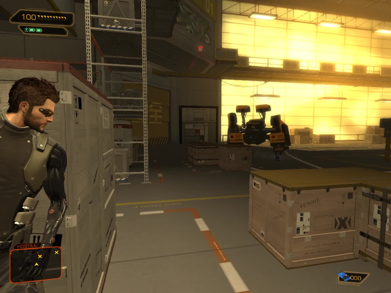 deus, ex, human, Absolute Zero run (No Augs, No Items, No Takedowns) - Deus Ex: Human Revolution GIFs