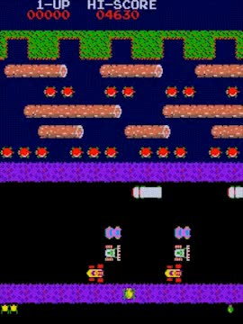 Watch and share Frogger *1981 Konami* GIFs by Haikuwoot on Gfycat