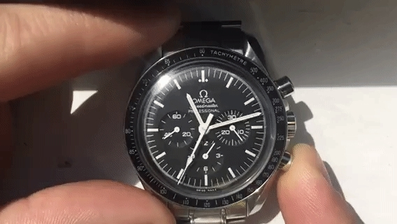 watches, Omega Speedmaster Professional Chronograph Reset GIFs