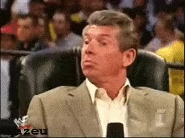 Watch this trending GIF on Gfycat. Discover more celebs, vince mcmahon GIFs on Gfycat