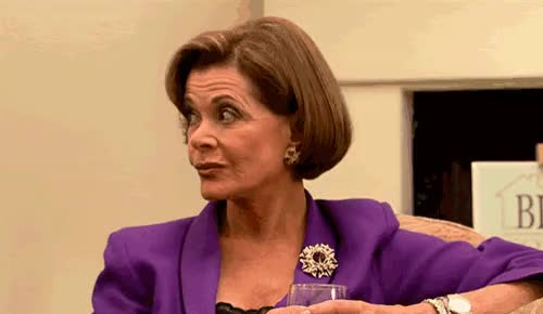jessica walter, My favorite Lucille Bluth face (S1E12), what's yours? | Rebrn.com GIFs