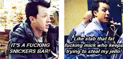 Watch and share This Is My Design GIFs and Mickey Milkovich GIFs on Gfycat