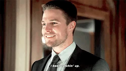 Watch and share Stephen Amell GIFs and Willa Holland GIFs on Gfycat