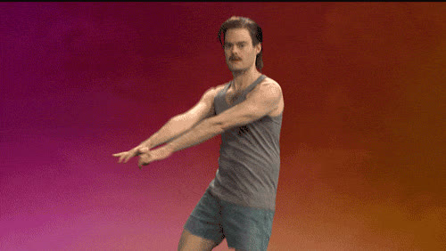 ass, bill, bill hader, celebrate, dance, excited, funny, hader, live, lol, move, move it, night, party, saturday, sexy, snl, Saturday night like GIFs