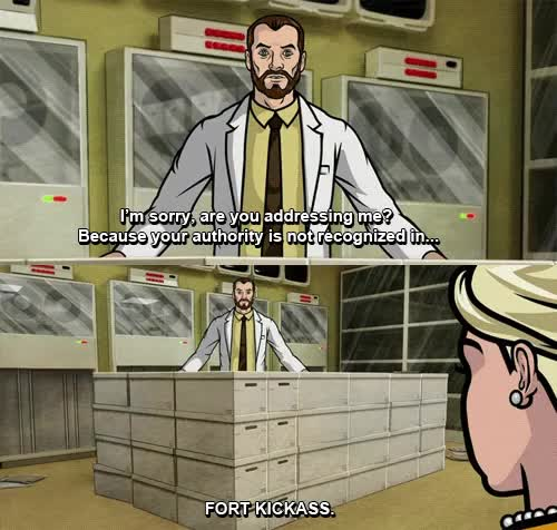 Watch and share Archer [Archive] GIFs on Gfycat