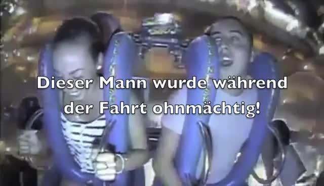 [VIDEO] Dieser Mann wird während der Fahrt Ohnmächtig! GIFs