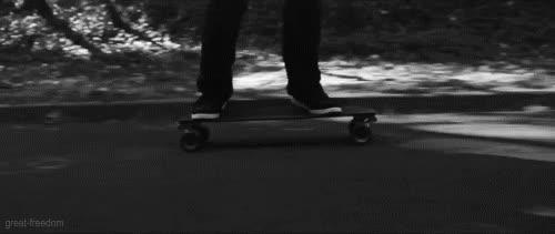 skateboard, skateboarding, skateboarding longboarding gif GIFs