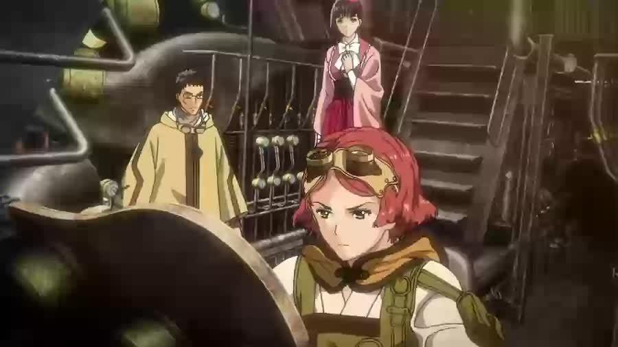 animegifs, Yukina [Koutetsujou no Kabaneri] GIFs