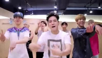 """Watch GOT7 """"딱 좋아(Just right)"""" Dance Practice #2 (Just Crazy Boyfriend Ver.) GIF on Gfycat. Discover more related GIFs on Gfycat"""
