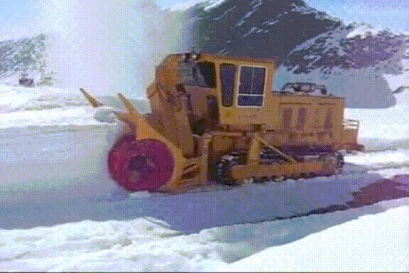 Watch and share Snowblower GIFs on Gfycat