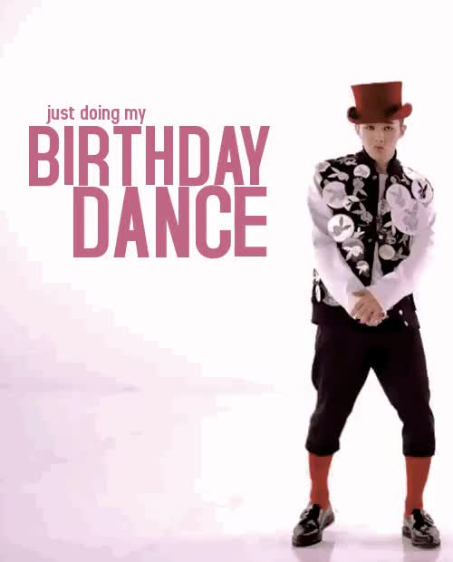 Watch and share Birthday Dance GIFs and Happy Bday GIFs on Gfycat