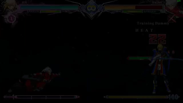 Watch and share BlazBlue Centralfiction Jin Combo GIFs by kunoasagi on Gfycat