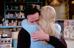Watch and share Chandler Bing GIFs and Phoebe Buffay GIFs on Gfycat