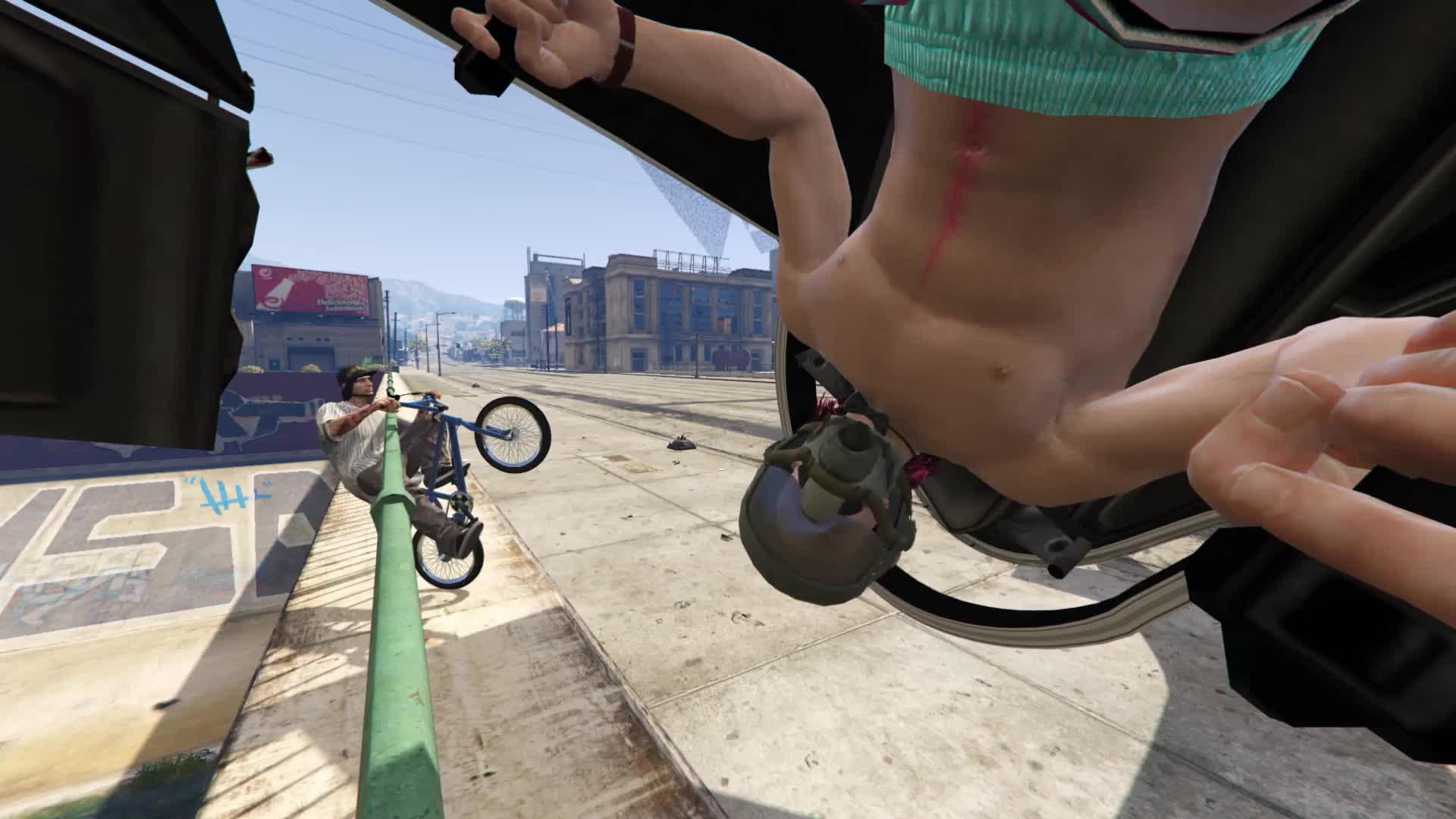 GamePhysics, gamephysics, Bike Thief GIFs