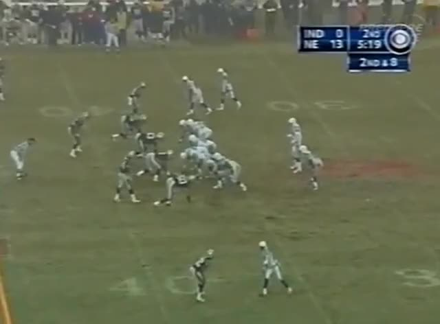 Watch and share 2003 AFC Championship Game: Patriots Vs Colts GIFs by casimir_iii on Gfycat