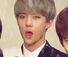 Watch and share His Tongue Habit GIFs and Sehun GIFs on Gfycat