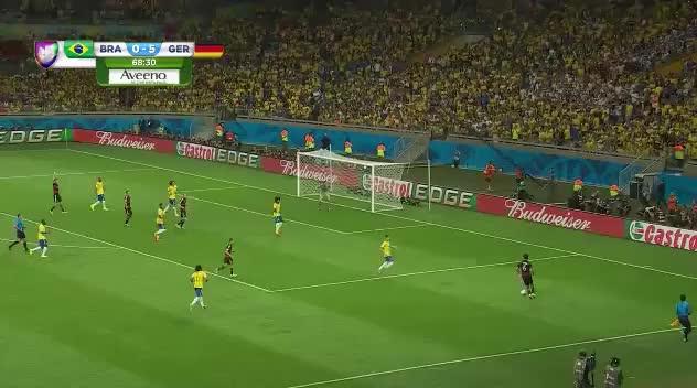 Watch Match Thread: Brazil vs Germany, World Cup Semi-Final (reddit) GIF by @badgersgopoo on Gfycat. Discover more soccer GIFs on Gfycat