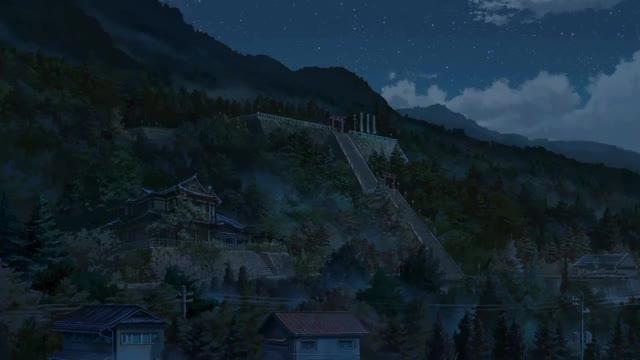 Watch and share Kimi No Na Wa: Comet Strike GIFs on Gfycat