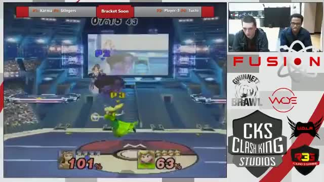Fusion 3 - PM Singles - Stingers (Peach) vs Cloud9 (Zelda)