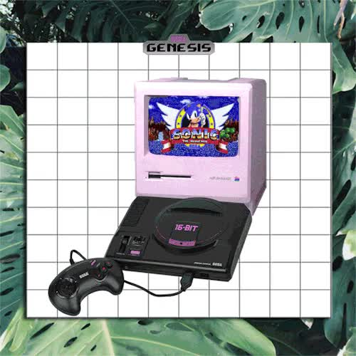 Watch and share Vaporwave Aesthetic GIFs and Sonic The Hedgehog GIFs on Gfycat