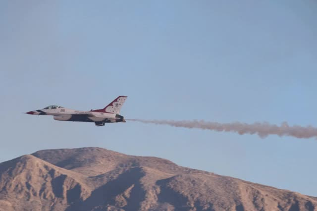 Watch and share USAF Thunderbirds Nellis AFB Aviation Nation 2016 GIFs on Gfycat