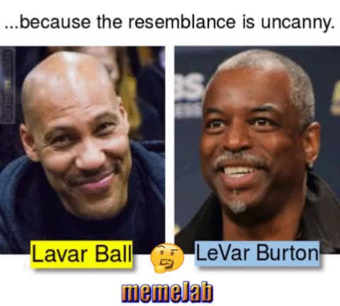 Watch and share Levar Burton GIFs and Lavar Bell GIFs by Petty Parker on Gfycat