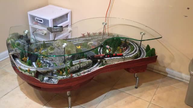 Watch Coffee table model train GIF by @philipsdirk on Gfycat. Discover more coffee table, model train, n scale GIFs on Gfycat
