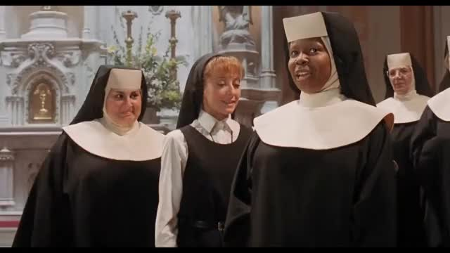 Watch Hail Mary GIF on Gfycat. Discover more Church, KO, Singing, ch, choir, ciu, film, funny, gospel, mieszne, miuzikal, movie, musical, nuns, piosenka, piosenki, song, zakonnica GIFs on Gfycat