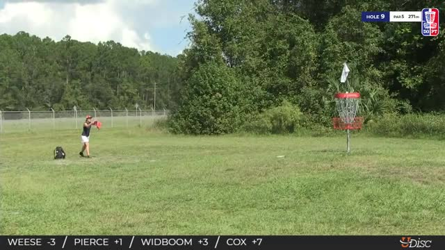 Watch 2018 Disc Golf Pro Tour Championship - Jessica Weese hole 9 putt GIF by Benn Wineka UWDG (@bennwineka) on Gfycat. Discover more Sports, dgpt, disc golf, disc golf pro tour GIFs on Gfycat
