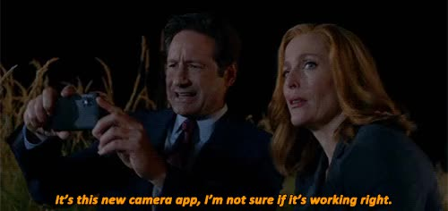 Watch and share Gillian Anderson GIFs and David Duchovny GIFs on Gfycat