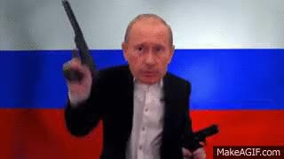 Watch and share Is The GOP's New Hero, Putin, A Member Of The NRA? GIFs on Gfycat