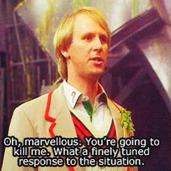 Watch and share Fifth Doctor GIFs on Gfycat