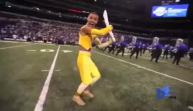 Watch and share Blue Devils GIFs and Colorguard GIFs on Gfycat