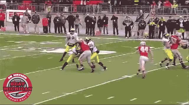 Watch and share Zach Boren Devin Gardner GIFs on Gfycat