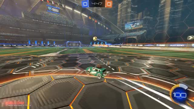 Watch and share Backboard Double GIFs and Rocket League GIFs by HappyChipo on Gfycat