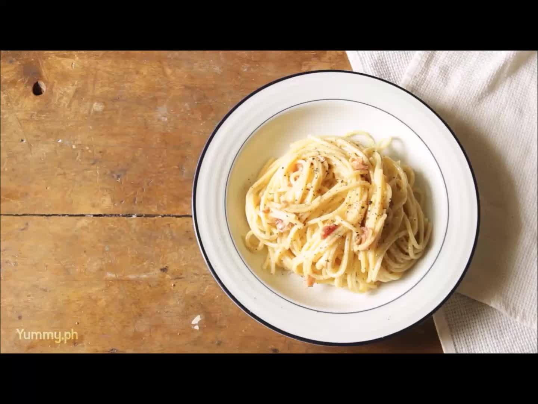 recipe, Carbonara GIFs