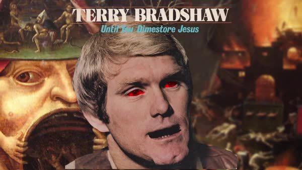 SurrealGifs, surrealgifs, Terry Bradshaw - Dimestore Jesus (reddit) GIFs